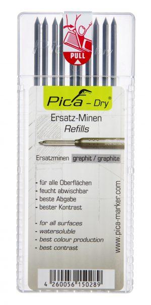 Pliiatsisüdamik PICA-Dry 2B grafiit (10/tk pakk)