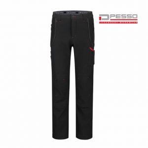Softshell püksid Nebraska must C52