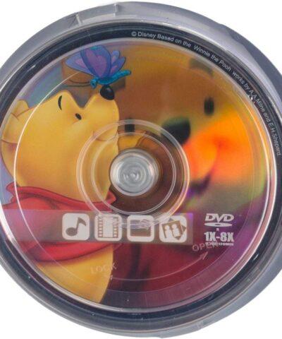 Disney DVD-R 4,7GB 8x The Pooh 10tk tornis