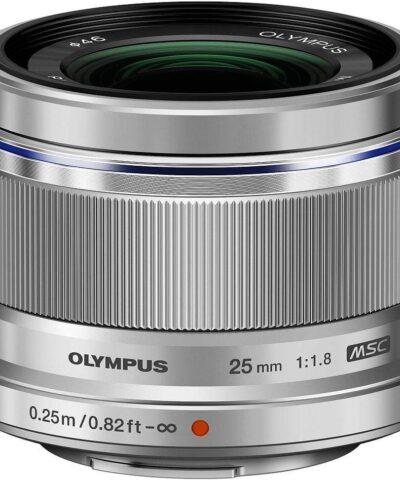 M.Zuiko Digital ED 25mm f/1.8 objektiiv, hõbedane