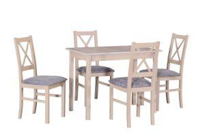 Söögilaud + 4 tooli.