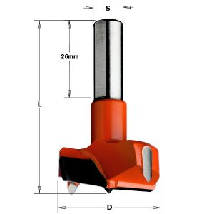 Hingepuur 15x57.5 S=10x26 HM LH