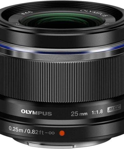 M.Zuiko Digital ED 25mm f/1.8 objektiiv, must