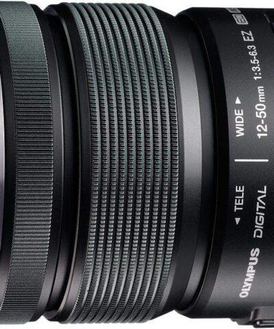 M.Zuiko Digital ED 12-50mm f/3.5-6.3 EZ objektiiv, must