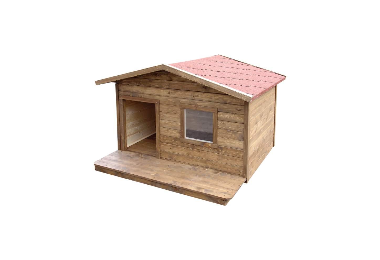 1bfe2d7cce5 Soojustatud terrassiga koerakuut Böse | Koerakuudid | PATMAR