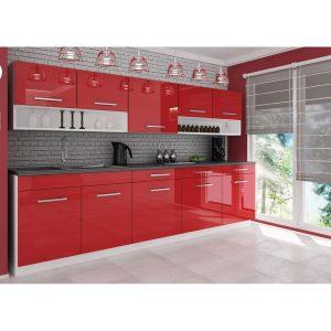 Köök Vanessa 260 cm punane