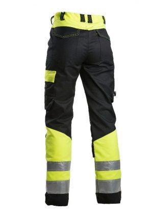 2134e498d85 Kõrgnähtavad tööpüksid 6046 must/kollane, naistele 36, Dimex | | PATMAR