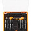 Precision screwdriver bits with holder
