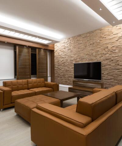 Dekoratiivsed puidust seinapaneelid interjööri